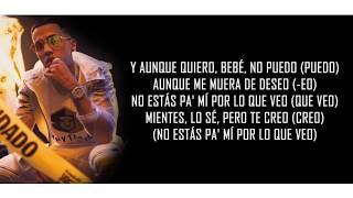 La Mentira ⚠ Brytiago X Rafa Pabón   La Mentira (LETRA)