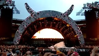 """AC/DC concert in Wellington NZ 2015 - Start up with """"Rock or Bust"""""""