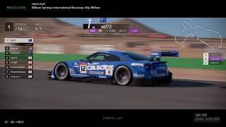 Gran Turismo™SPORT - Willow Springs Nissan GTR Gr2 (online race)