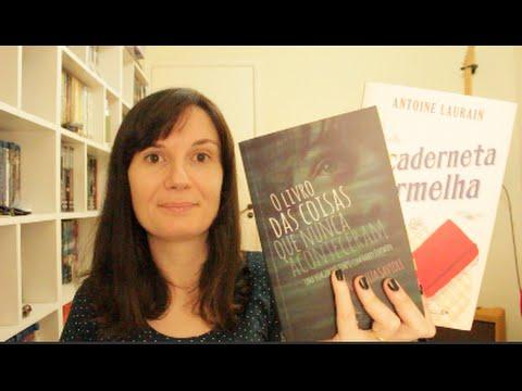 2 Livros: O livro das coisas que nunca aconteceram + A caderneta vermelha
