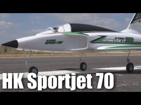 Review: HobbyKing Sport Jet 70 RC plane