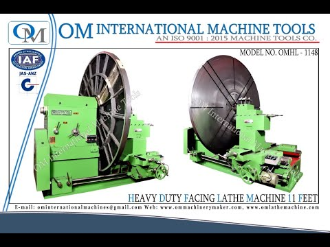 Heavy Duty Facing Lathe Machine
