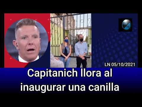 Video: Jorge Capitanich lloró al inaugurar una canilla en el chaco