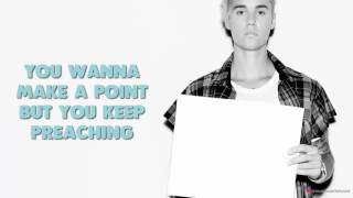 Justin Bieber - What do You Mind? Lyric Videos