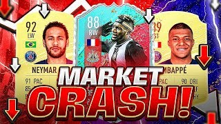 WHEN TO BUY CARDS?! TOTS MARKET CRASH!! FIFA 20 Ultimate Team