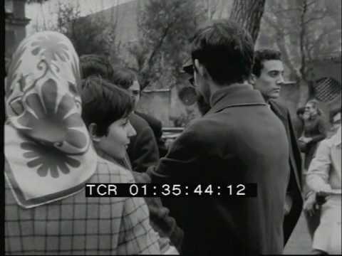 Occupazione liceo Mamiani - Roma, marzo 1968