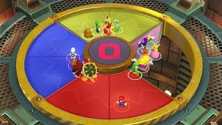 Super Mario Party - Mario vs Luigi vs Wario vs Waluigi - MiniGames
