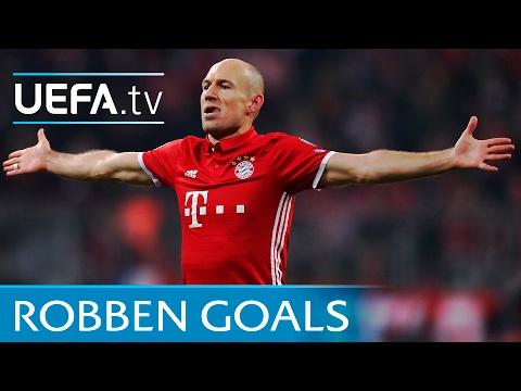 Arjen Robben: 5 trademark goals