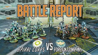 [Daedalus' Fall Week] Battle Report: Spiral Corps vs Foreign Company