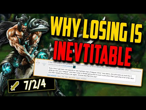 Clean Carry in a skill matchup & Why losing is inevitable in LoL