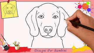 Come disegnare cane videos for Cane disegno facile