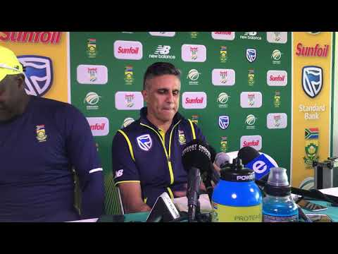 Dr Mohammed Moosajee addresses Kagiso Rabada's availability for the Newlands Test.