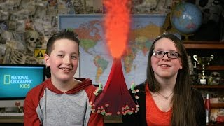 Nat Geo Kids Make a Volcano!