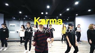 YELLZ | Karma - Alicia Keys & Bimbo | E DANCE STUDIO | GIRLISH CLASS | 이댄스학원
