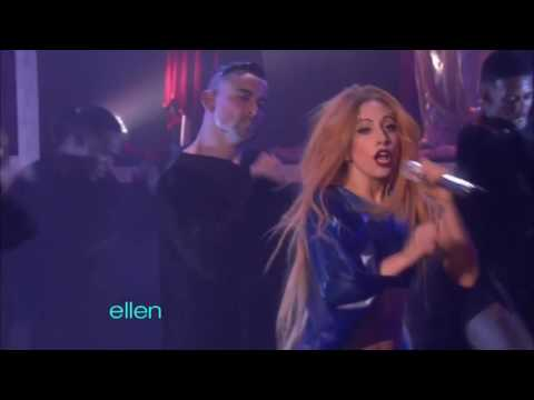 Lady GaGa - Judas (The Ellen Show 2011)