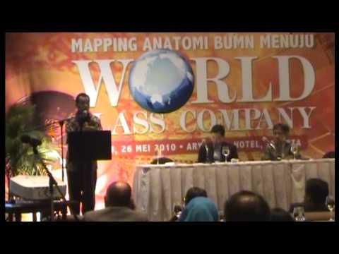 Emirsyah Satar Dirut. PT. Garuda Indonesia, Pembicara Seminar World Class Company