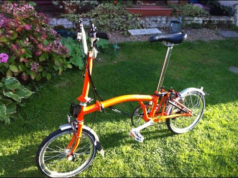 Review of my new  Brompton M6L Folding Bike