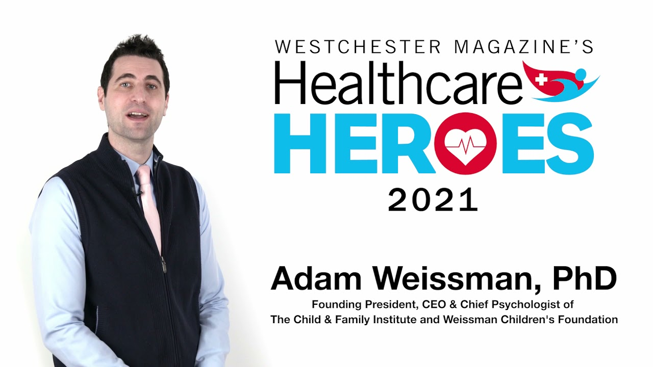 Dr. Weissman Introduces the WCF COVID Relief Initiative as he Accepts the Westchester Magazine's Healthcare Heroes Award