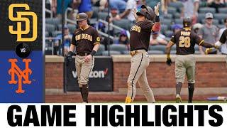 لعبة بادريس ضد ميتس (6/13/21)   يسلط الضوء على MLB