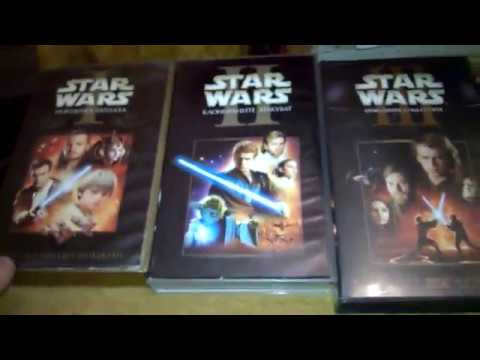 Star Wars: The Complete Saga VHS Collection