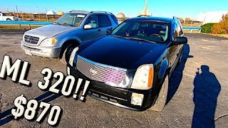 Driving the Flood Cadillac 200 Miles to buy a Mercedes