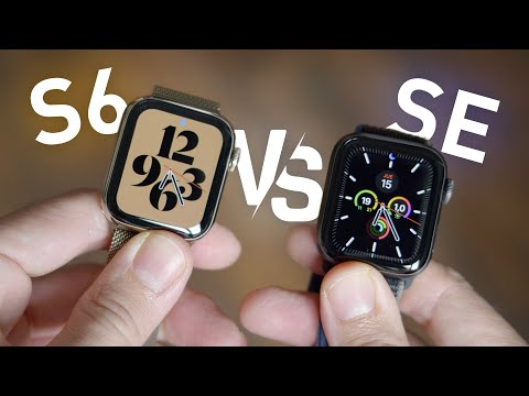 Apple Watch S6 vs Watch SE, ¿CUÁL ES MEJOR PARA TI?