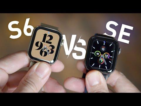 Apple Watch S6 vs Watch SE, ¿CUÁL ES MEJOR PARA TI?