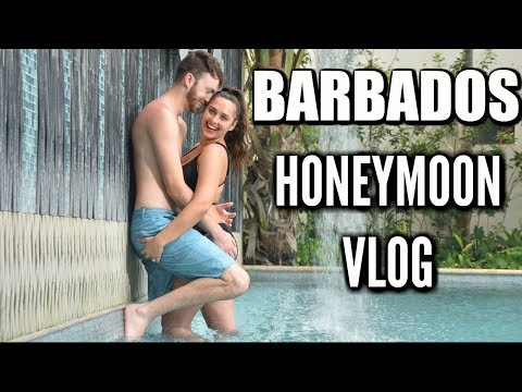 BARBADOS HONEYMOON VLOG! Sandals Royal Barbados