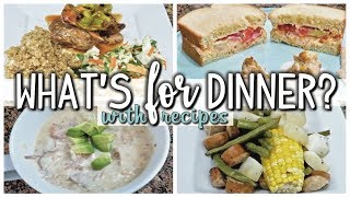 WHAT'S FOR DINNER? | EASY AND AFFORDABLE DINNERS | COOK WITH ME | NOV 14-20