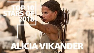Alicia Vikander is the third best actress of 2018 according to IMDB