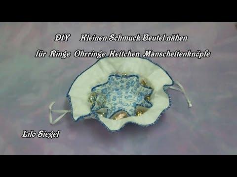 DIY Kleinen Schmuckbeutel nähen für Anfänger - Lilo Siegel