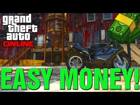 GTA 5 Online How To Make Easy Money Solo! How To Make Money Fast And Complete A Bounty!