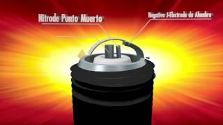 Nitrode Yttrium Spark Plug Video - Spanish