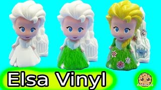 Color It Yourself Disney Frozen Fever Queen Elsa Design A Vinyl Doll Craft Marker Set