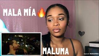 Maluma   Mala Mía (Official Video) | REACTION