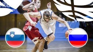 Slovenia v Russia - Full Game - Semi-Finals - FIBA U20 European Championship Division B 2018 | Kholo.pk