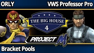 TBH4 PM - ORLY (Falcon) vs VWS Professor Pro (Snake) - Bracket Pools