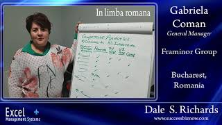 Dale Richards created the expansion business plan for Gabriela Coman (in limba Romana)