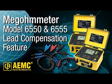 AEMC® - 6555/6550 - Lead Compensation Feature Explained