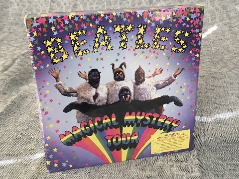 Coffret The Beatles Magical Mystery Tour Edition Collector Blu Ray Dvd Livre
