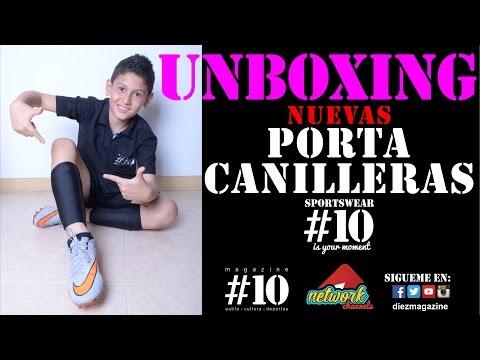 PORTA CANILLERAS O ESPINILLERAS #10 MAGAZINE //FULLHD//