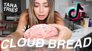 MAKING TIKTOK CLOUD BREAD! Tiktok Made Me Try It