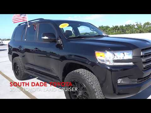 Pre Owned 2016 Toyota Land Cruiser