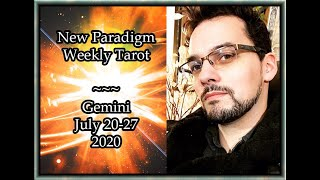 Gemini Weekly Tarot Horoscope July 20-27 2020