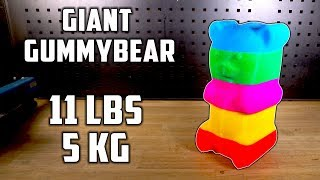 11 lbs homemade Colorful Gummy Bear - Video Youtube