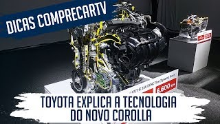 Novo Corolla 2020 - Detalhes técnicos do motor e t
