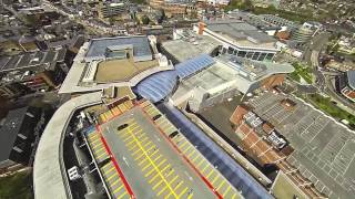 preview picture of video 'DJI F550 Drone Flight over High Wycombe Town Centre'