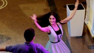 """Зажигательные танцы на осетинской свадьбе. Владикавказ. Ресторан """"Восток"""""""