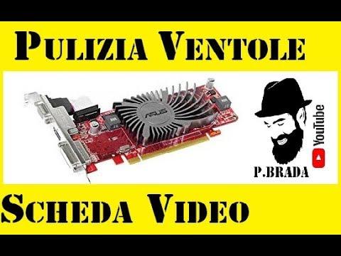 Pulizia ventole e scheda video Fai da te by Paolo Brada DIY