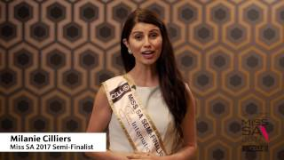 Introduction Video of Milanie Cilliers Miss South Africa 2017 Contestant from Polokwane, Limpopo